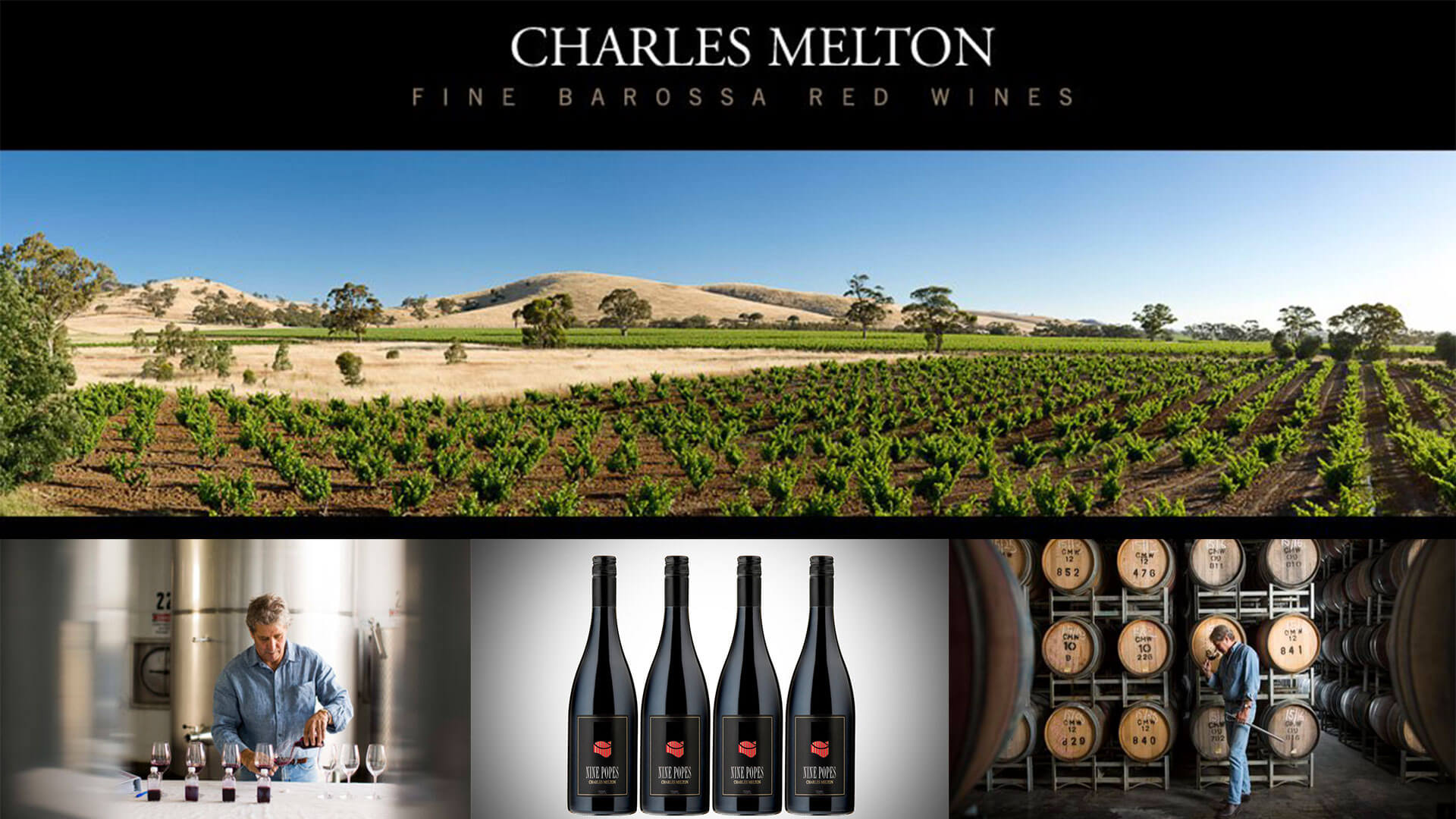Iconic Winemaker Dinner - Charles Melton of the Barossa Valley