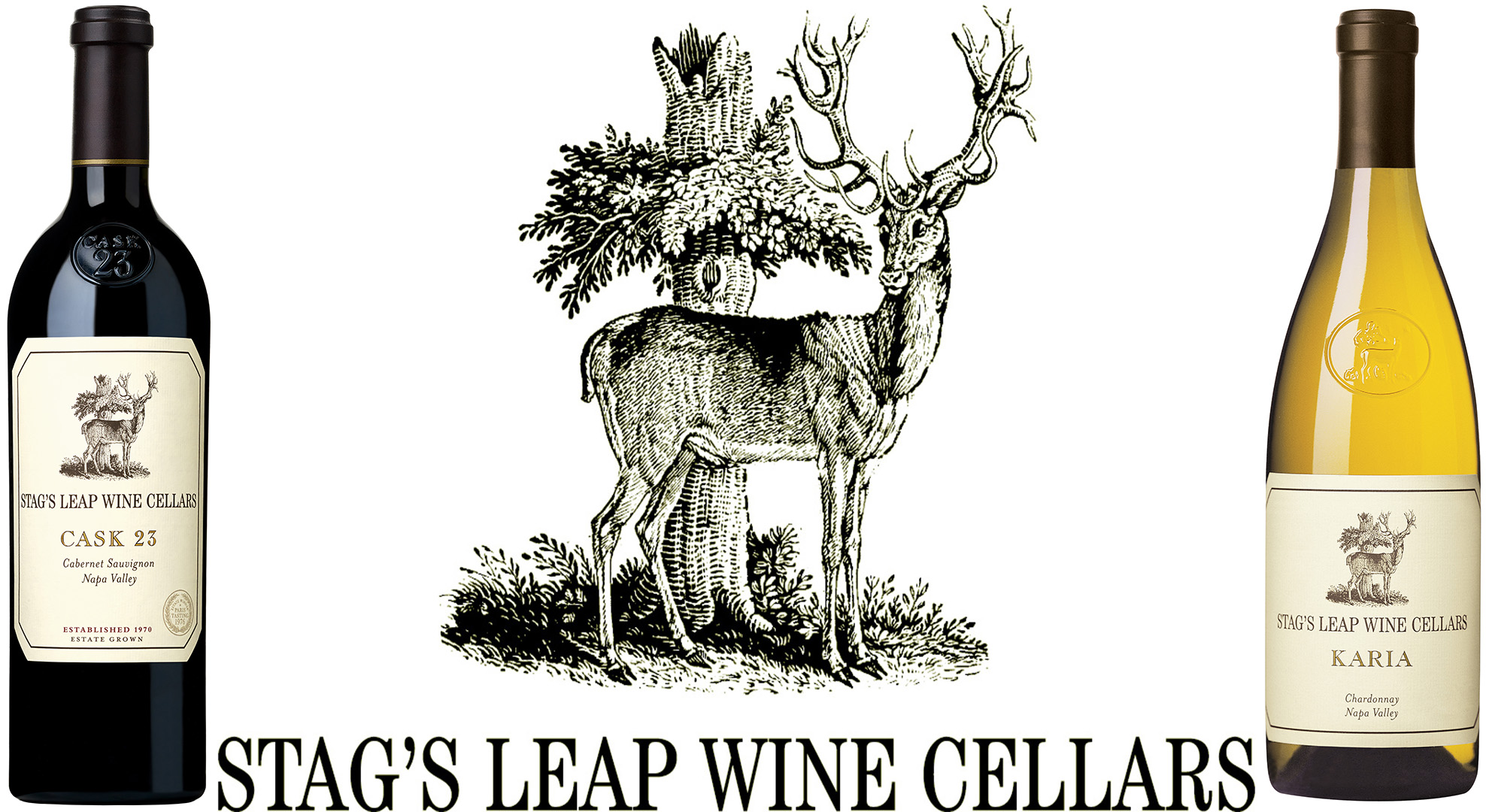 Napa Valley Wine Dinner with Iconic Stag's Leap Wine Cellars