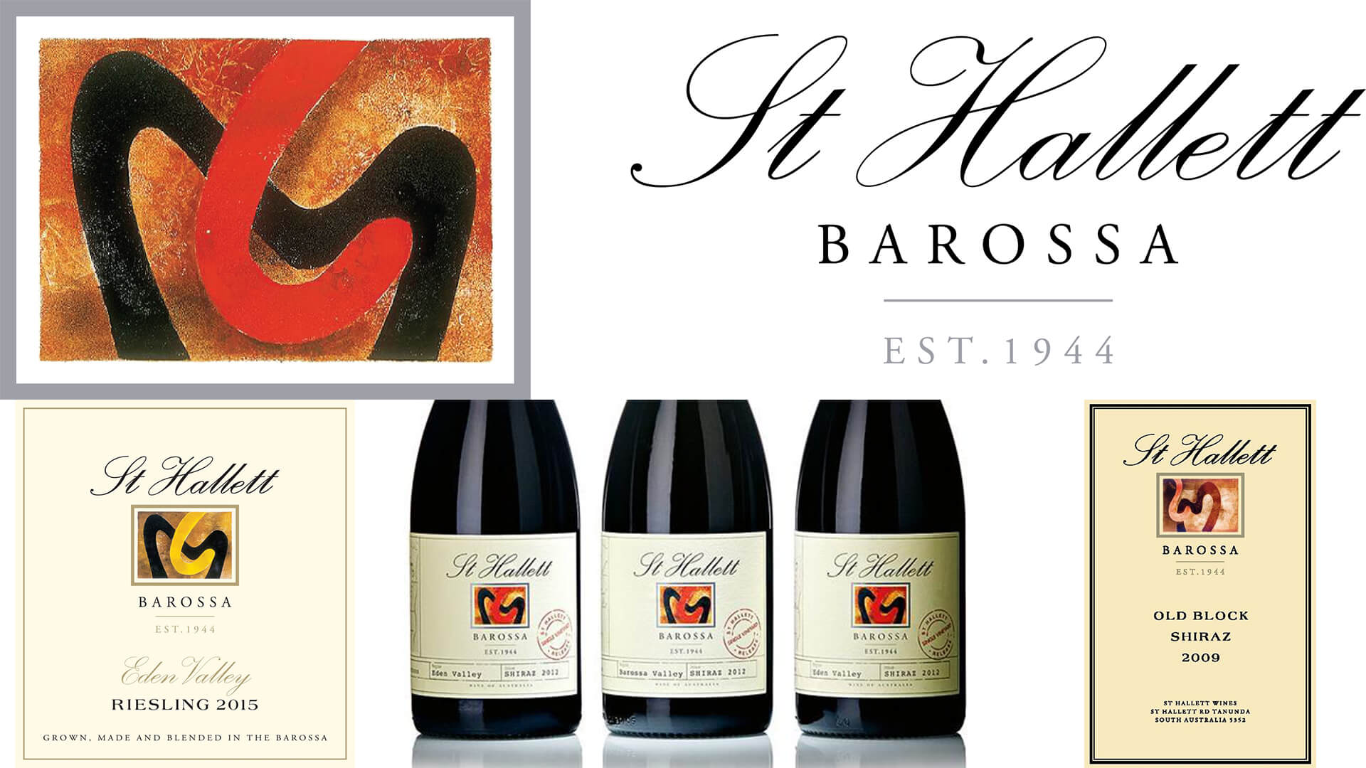 St Hallet of Barossa Sunday Wine Lunch :  New vintage launch of the legendary Old Block Shiraz